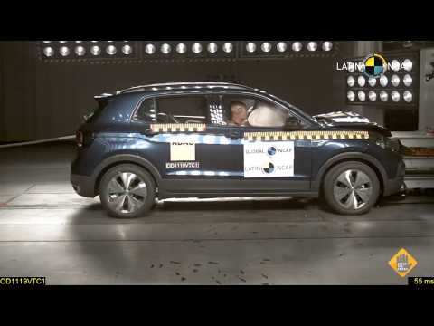 VW T-Cross crash test por Latin NCAP