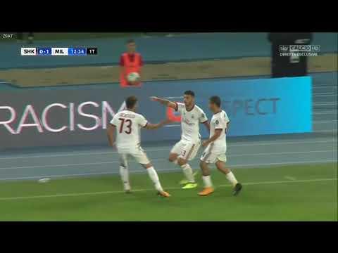 Shkendija 0-1 AC Milan - All Goals & Highlights - Europa League [HD]