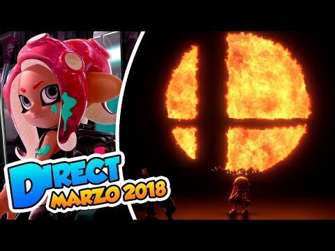 ¡Octarianos y Smash Bros en Switch! -  Nintendo Direct (Marzo 2018) DSimphony #Directphony