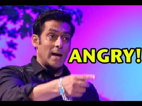 Salman Khan's Furious Response When Asked About
