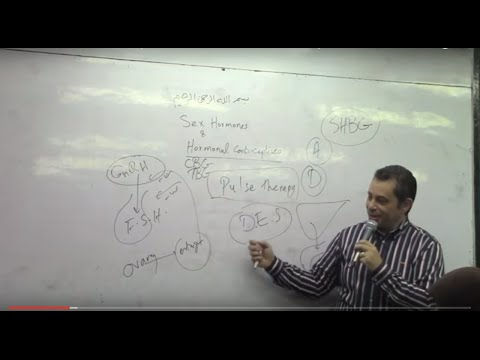 74. Dr. Ahmed Abdelrahman (Sex hormones and hormonal contraceptives