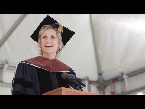 College Speakers - Emmy and Golden Globe--winning actress Jane Lynch was the speaker at Smith College's 134th commencement ceremony on Sunday, May 20, 2012. Find the Text of th...