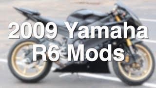 7. 2009 Yamaha R6 Mods