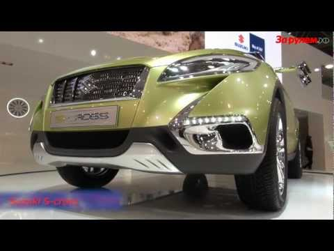 Suzuki S Cross победил в номинации Лучший концепт кар