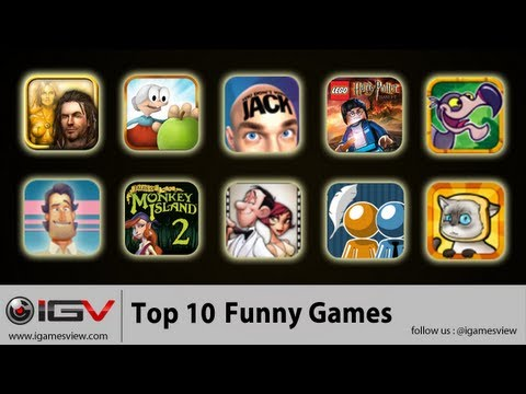 Top 10 Funny Games For iPhone, iPad And iPod Touch