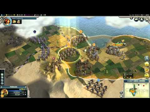 Let's Play Civilization V: Gods and Kings -- Part. 4