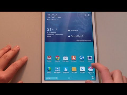 Samsung Galaxy Tab Pro 8.4 Unboxing & First-Look (White)