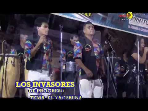 LOS INVASORES DE PROGRESO TEMA  EL YACURUNA LOCAL EN CAN BEACH EDICION JOTMAN REYNA RIOS