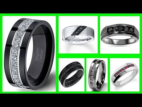 TOP 40 Mens Black Diamond Wedding Band | LATEST Mens Black Diamond Rings