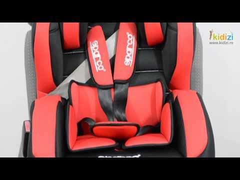 Prezentare video Sparco scaun auto F700