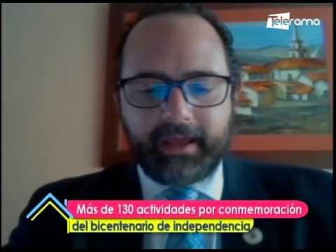 Más de 130 actividades por conmemoración de bicentenario de independencia