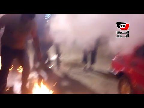 أنصار الإخوان يحرقون فرعى فودافون وإتصالات بالجيزة