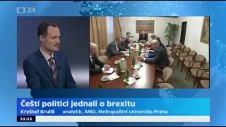 Čeští politici jednali o brexitu