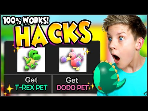 100% WORKS! HACK TO HATCH LEGENDARY Fossil Pet! How to Hatch T-REX & DODO in Adopt Me! WORKING 2020!