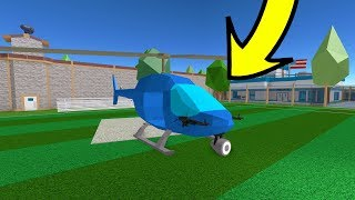 Como adicionar 2 METRALHADORAS no Helicoptero do Jailbreak
