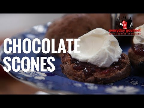 Cadbury Chocolate Scones | Everyday Gourmet S6 EP50