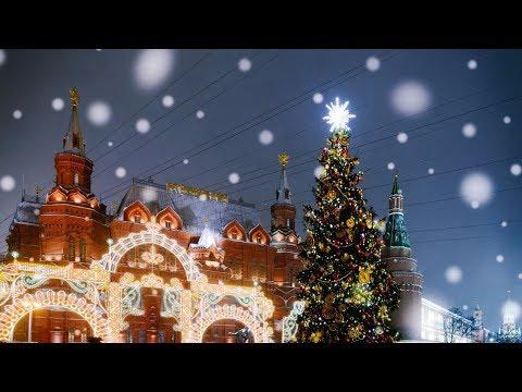 Hyperlapse & Timelapse Christmas Light, Moscow