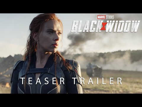 Official Teaser Trailer Marvel Studios Black Widow