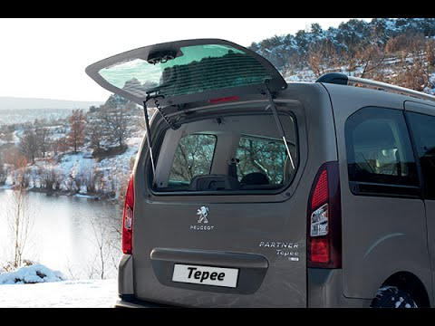 Душевный тест-путешествие Peugeot Partner Tepee
