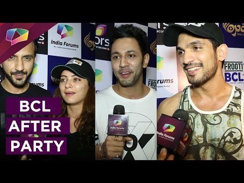 Checkout Box Cricket League's first after party