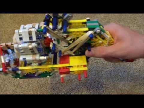 The K'NEX WASP (War Assault Semi-automatic Pistol, Made By Oodalumps)