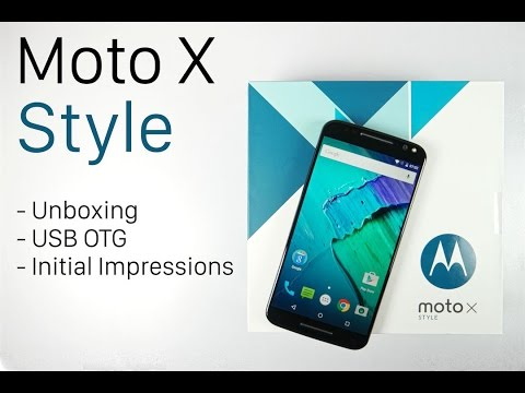 Moto X Style Unboxing and Initial Impressions (Indian Retail Unit) | AllAboutTechnologies