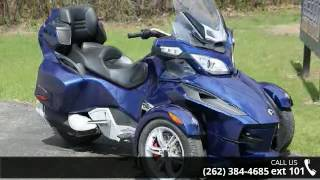 5. 2010 Can-Am Spyder Roadster RT Audio And Convenience  - A...
