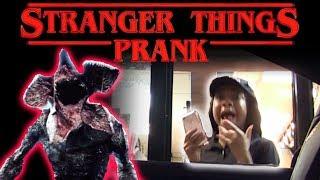 Video Drive Thru Stranger Things Prank! MP3, 3GP, MP4, WEBM, AVI, FLV November 2017