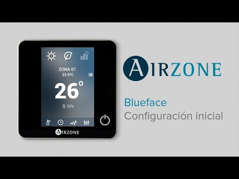 Configuración inicial Termostato Blueface