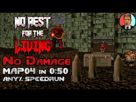 [WRecord] Hell Mountain Reality in 0:50 (Doom II: No Rest For The Living)