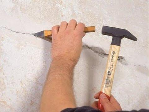 Boya Badana Önce Duvardaki çatlaklar nasıl açılır tamir nasıl yapılır 05332482320