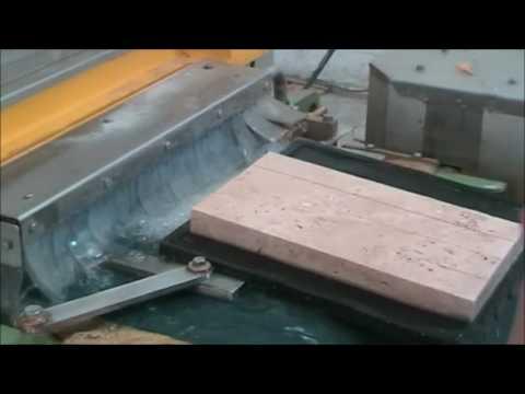 Mozaik ebatlama makinesi