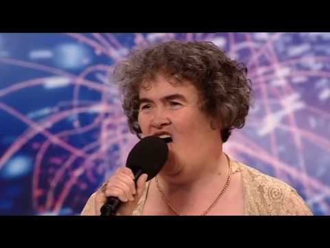 clip - Susan Boyle - Britain's Got Talent 2009 Episode 1 - Saturday 11th April.