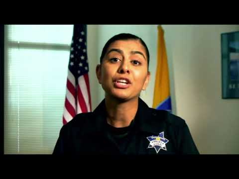 Fallen Davis Police Officer Natalie Corona speaks at own memorial through police academy video