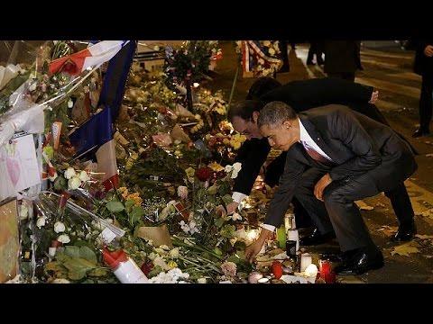 Τιμή από Ομπάμα στη μνήμη των θυμάτων της 13ης Νοεμβρίου