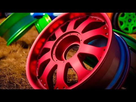 Как правильно красить диски?