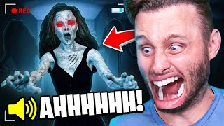 GHOST HUNTING in a HAUNTED MANSION (Phasmophobia)