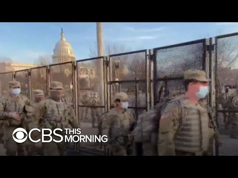Preparations for Inauguration, new details on Capitol riots