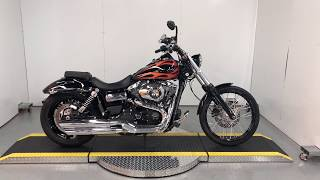 10. 2013 Harley Davidson Dyna Wide Glide For Sale