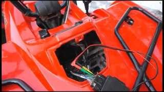10. Arctic Cat 366 no spark CDI peak voltage test