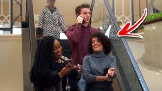 Video AWKWARD PHONE CALLS on the ESCALATOR PRANK! (Part 2) MP3, 3GP, MP4, WEBM, AVI, FLV Juli 2019