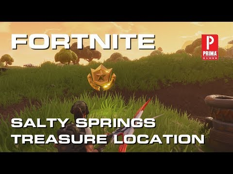Fortnite - Salty Springs Treasure Map Challenge Guide