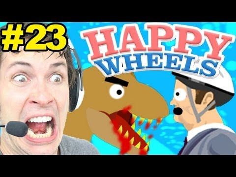 HAPPY WHEELS - NEW LEVELS! - Part 23