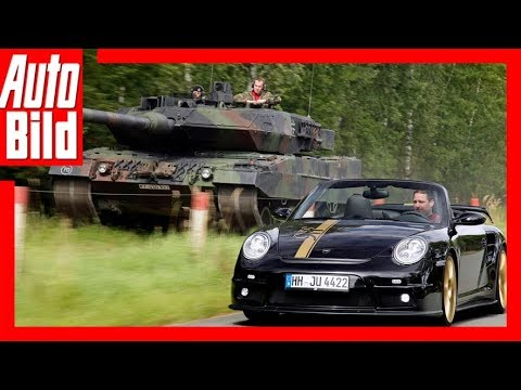Leopard 2 vs. 9ff GTronic — Extremer Test
