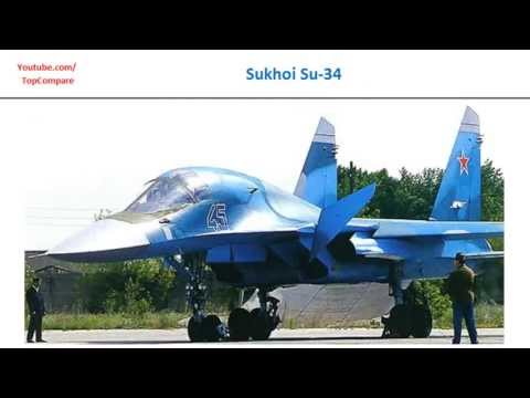 Sukhoi Su-34 vs  F-16 Fighting...