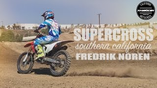 Swedish 250 Champion Fredrik Noren practicing for the 2017 Supercross season in Southern California. Thumbs up and share.Subscribe http://youtube.com/mxwebcamWebsite http://www.mxwc.com/Stickers http://www.mxwc.com/stickersEmail mxwebcam@gmail.comFILM LOCATION:Milestone MX ParkCITY/STATE:Riverside, CaliforniaSUPERCROSS VIDEO PRODUCED BY:mxwebcam