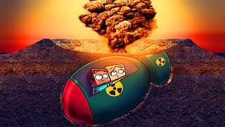 Minecraft | NUCLEAR BUNKER CHALLENGE - Nuke Blows UP! (Don't Explode or YOU DIE)