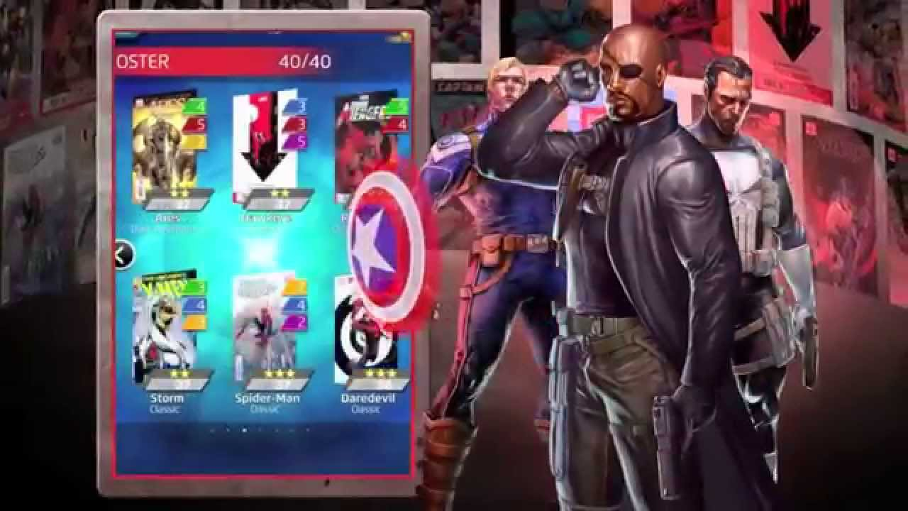 Tons of Marvel Mobile Gaming News Came Out of Comic-Con Over the Weekend