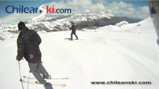 Cóndor ski trail video, Termas de Chillán Chile