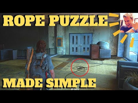 The Last of Us 2 - Conference Center Rope Puzzle (Chapter 18 The Seraphites Seattle Day 2 TLOU2)